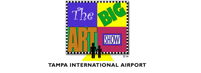 Big Art Show! Tampa International Airport